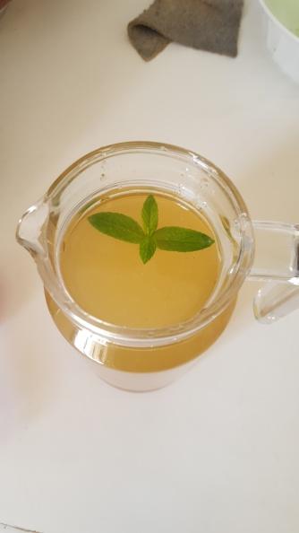Garnish with Phudina Leaf