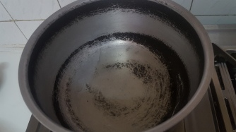 Heat Oil in a pan