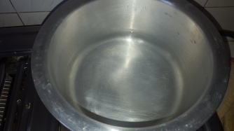Boil Water in a Sufuria...