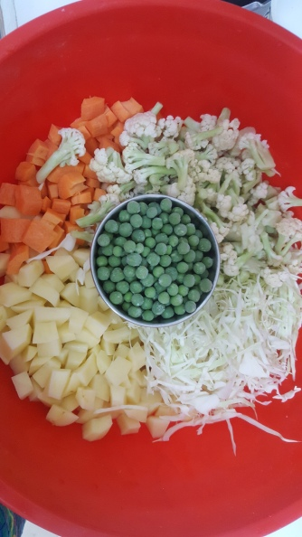 The Veggies Chopped