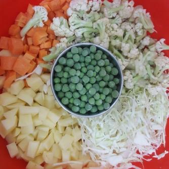 The Veggies Chopped