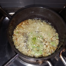 Add the ginger chilli paste