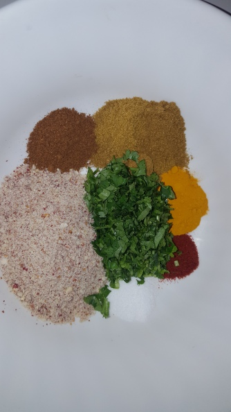Ingredients for the Stuffing