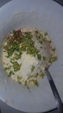 For the Batter paste, Put all the ingredients mentioned