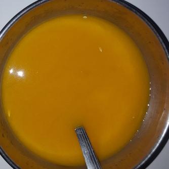 Mix Water, Salt, Lemon Juice and turmeric powder